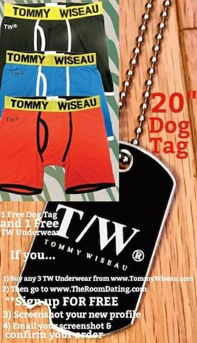 FourDaySpecialTWUnderwearDogTag
