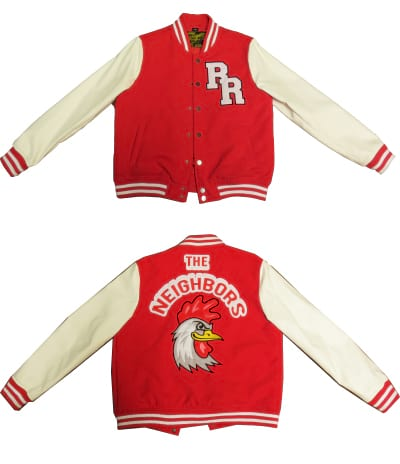 SUPER SALE ONLY $ 29 99 - RR Varsity Jacket WITH 3 PACKETS - GREAT VALUE!